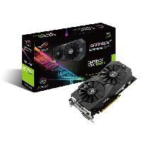 Composant - Piece Detachee Asus Carte graphique GeForce STRIX GTX 1050 TI O4G Gaming - 4Go GDDR5