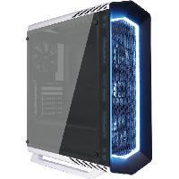 Composant - Piece Detachee Boitier PC sans alimentation P7-C1 PRO WG BLANC - Verre trempe