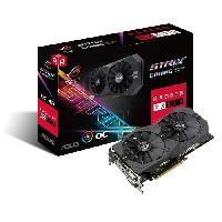 Composant - Piece Detachee Carte graphique AMD Radeon RX 570 - ROG-STRIX-RX570-O4G-GAMING - 4Go GDDR5