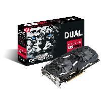 Composant - Piece Detachee Carte graphique AMD Radeon RX 580 - DUAL-RX580-O4G - 4Go GDDR5