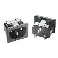 Composant - Piece Detachee Connecteur alimentation AC - IEC 60320 - C14 E - MaleFemelle - 10A250VAC - MID