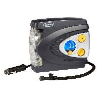 Compresseur Auto Compresseur pneumatique digital programmable - 12v + Lampe a LED