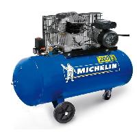 Compresseur Auto MICHELIN Compresseur 200L courroie 3CV 10 bars 230V MCX 200