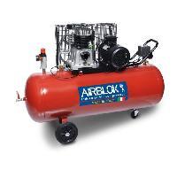Compresseur Compresseur d'air 200L horizontal 3cv 10 bars 230V AIRBLOK