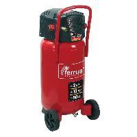 Compresseur FERRUA Compresseur d'air vertical 50 L sans huile 2 CV 10 bars