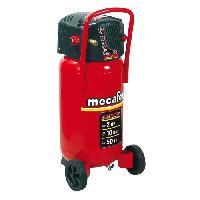 Compresseur MECAFER Compresseur d'air vertical 50 L sans huile 2CV 10 bars FIFTY