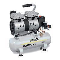 Compresseur MECAFER Compresseur silencieux - 425513 - 6L - 0.5HP - Gris