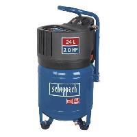 Compresseur SCHEPPACH Compresseur d'air vertical 24 L 2CV 10 bars sans huile HC24V