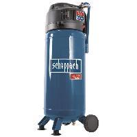 Compresseur SCHEPPACH Compresseur vertical 50L - 2CV - 10bar - Sans huile + ensemble 13 accessoires + tuyau 10m - HC51V - Bleu