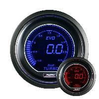 Compteurs & Manos Manometre de Pression de Turbo ProSport Digital - Bleu Rouge