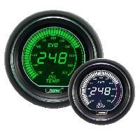 Compteurs & Manos Manometre de Temperature Huile ProSport Digital - Vert Blanc