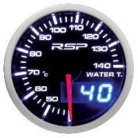 Compteurs & Manos Manometre de temperature d eau a Led RSP - D.52mm