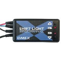 Compteurs & Manos Shift light Sequentiel - Omex