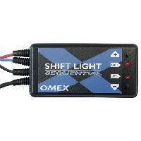 Compteurs & Manos Shift light Sequentiel - Omex Generique