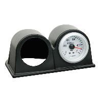 Compteurs & Manos Support manometre double - diametre 52mm