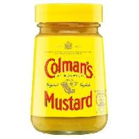 Condiments - Sauces - Aides Culinaires COLMAN'S Moutarde - 100 g