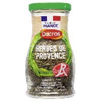 Condiments - Sauces - Aides Culinaires DUCROS Premiere saveur herbes de Provence LABEL ROUGE - Grand flacon - 45 g