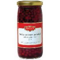 Condiments - Sauces - Aides Culinaires ERIC BUR Airelles au Naturel Baie Rouge 160g