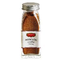 Condiments - Sauces - Aides Culinaires ERIC BUR Epices Muscade Moulu - 54g