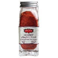 Condiments - Sauces - Aides Culinaires ERIC BUR Epices Piment D'espelette - A.O.P - 48g