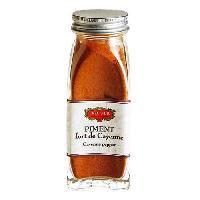 Condiments - Sauces - Aides Culinaires ERIC BUR Epices Piment Fort De Cayenne Poudre - 45g