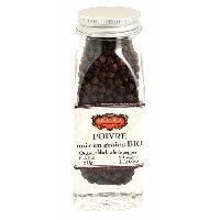 Condiments - Sauces - Aides Culinaires ERIC BUR Poivre Poivre Noir En Grains - Bio - 50g