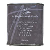 Condiments - Sauces - Aides Culinaires LES TRUFFÉS DE MAMIE MONNIER Bidon d'huile d'olive extra-vierge a la truffe blanche - 175 ml - Aucune