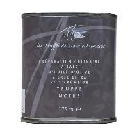 Condiments - Sauces - Aides Culinaires LES TRUFFÉS DE MAMIE MONNIER Bidon d'huile d'olive extra-vierge a la truffe noire - 175 ml - Aucune