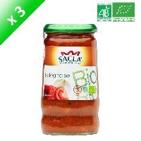 Condiments - Sauces - Aides Culinaires SACLA Sauce bolognaise - 370 ml x3 - Bio