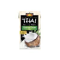 Condiments - Sauces - Aides Culinaires THAI KITCHEN Creme de coco Tetrapack sans additifs - 250 ml Aucune