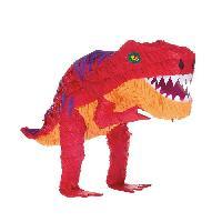 Confettis - Canon A Confettis  AMSCAN Pinata Dinosaure T-Rex Riethmuller