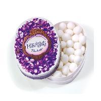 Confiserie 12x Boites 50g violette - bonbon anis