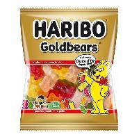Confiserie 30x Bonbons Gelifies Haribo L ours d or - sachet de 40g