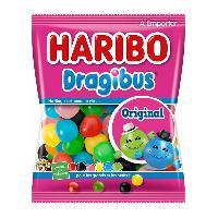 Confiserie 30x Bonbons gelifies Haribo Dragibus sachet de 40g