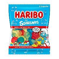 Confiserie 30x Bonbons gelifies Haribo Schtroumpfs sachet de 40g