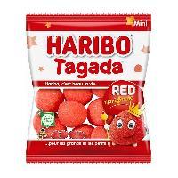 Confiserie 30x Bonbons gelifies Haribo Tagada sachet de 30g