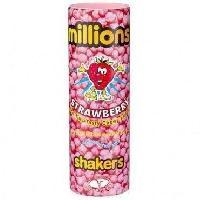 Confiserie Bonbons Millions shakers Fraise 90g - Aucune