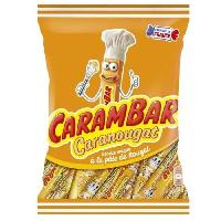 Confiserie CARAMBAR Bonbons Caranougat. a la pâte de nougat - 320 g