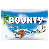 Confiserie De Chocolat - Barre Chocolatee Barres Bounty Minis - 366 g