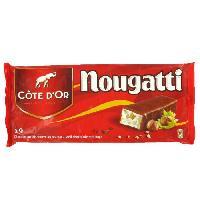Confiserie De Chocolat - Barre Chocolatee Barres Chocolat Cote d'Or fourre au nougat - 9x 30 g