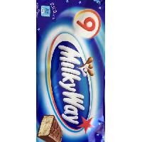 Confiserie De Chocolat - Barre Chocolatee Barres chocolatees Milky Way - 9x 21.5 g