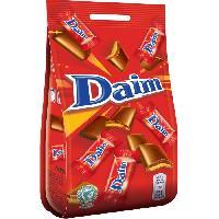 Confiserie De Chocolat - Barre Chocolatee Bonbons Daim 140g - Daco Bello