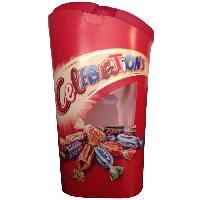 Confiserie De Chocolat - Barre Chocolatee Bonbons assortis Celebrations en ballotin - 380 g