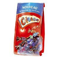 Confiserie De Chocolat - Barre Chocolatee Bonbons assortis Celebrations en sachet - 196 g