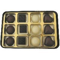 Confiserie De Chocolat - Barre Chocolatee Coffret Metal Eclat Chocolate 270g