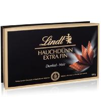 Confiserie De Chocolat - Barre Chocolatee Confiserie de Chocolat Lindt Extra Fins Noir - Coffret 180G - Aucune