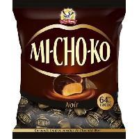 Confiserie De Chocolat - Barre Chocolatee LA PIE QUI CHANTE Bouchées chocolatées noir caramels Mi-Cho-Ko - 280 g