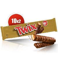 Confiserie De Chocolat - Barre Chocolatee MARS Barres Twix L'original - 20x 25 g