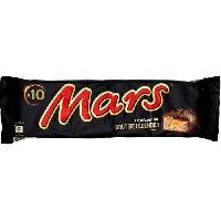 Confiserie De Chocolat - Barre Chocolatee MARS Barres chocolatees Legend fourrees de confiserie et caramel - 10x 45 g
