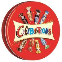 Confiserie De Chocolat - Barre Chocolatee MARS Bonbons assortis Celebrations en boite metal - 435 g